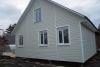 Каркасный дом 8х6м по индивидуальному проекту