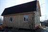 Какрасный дом по проекту ЕВ-36 (зимняя подготовка под обшивку сайдингом)
