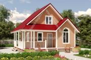 красивые дачные домики до 100м2