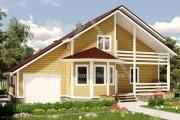 Огромный загородный дом с гаражом 180 квадратов