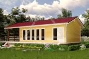 одноэтажные дома проект