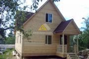 дом 6х9 с тремя фронтонами