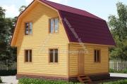 Дачный дом 6х6м