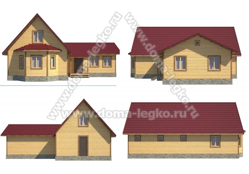 дом-баня 12х6м