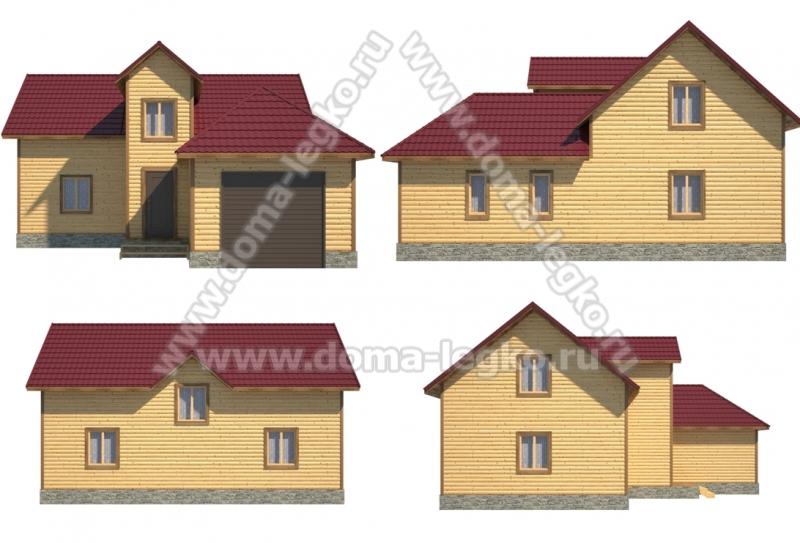 Проект дома № Д44