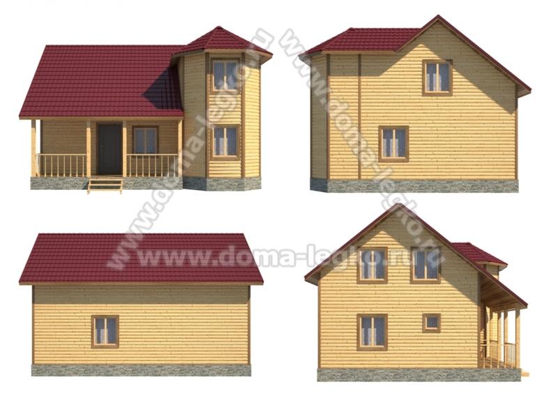 Проект дома № Д38