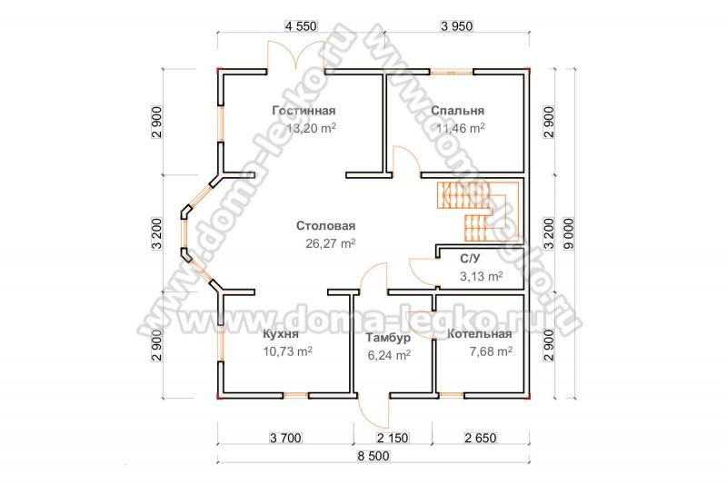 планировка дома 155м2