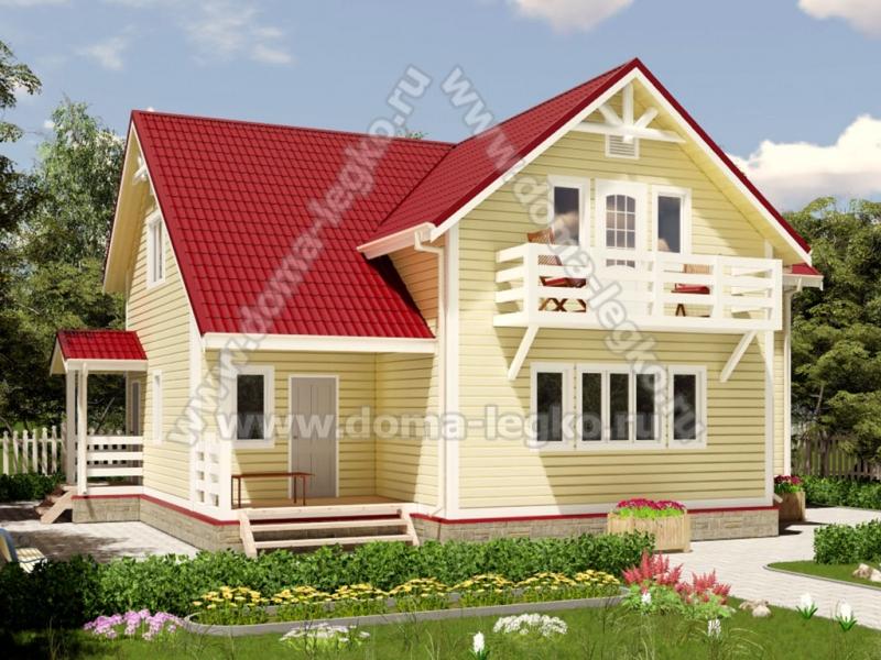 Большой загородный дом 200м2