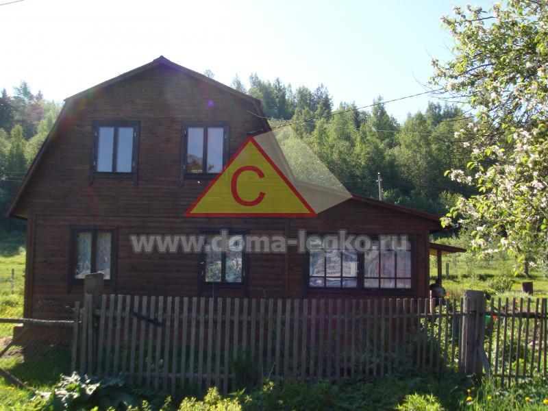 дом на дачу 6х9 с большой верандой