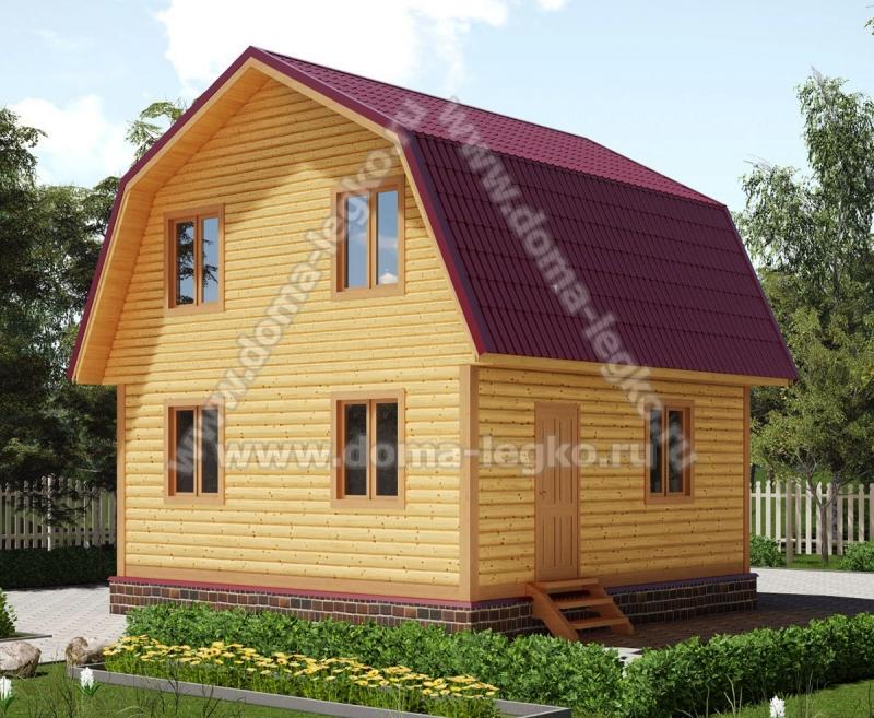 Дом на дачу 6х6