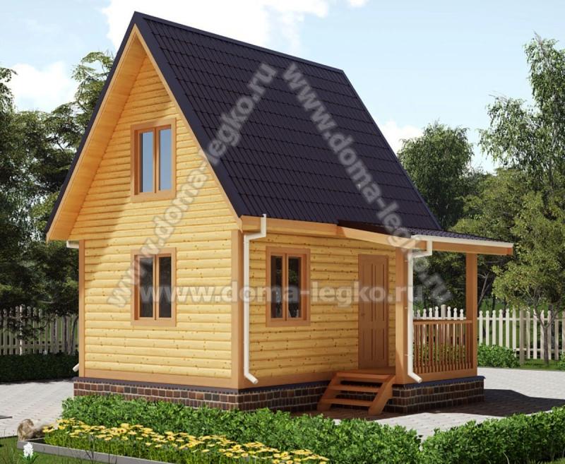 дом 5,5х5 36м2