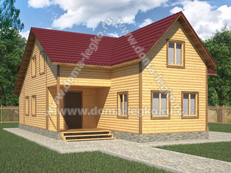 Проект дома 10х13м