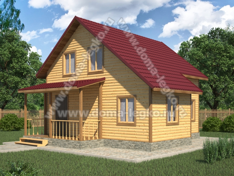 Проект дома 6,0х7,3м